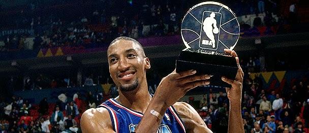 Scottie Pippen Allstar Game MVP