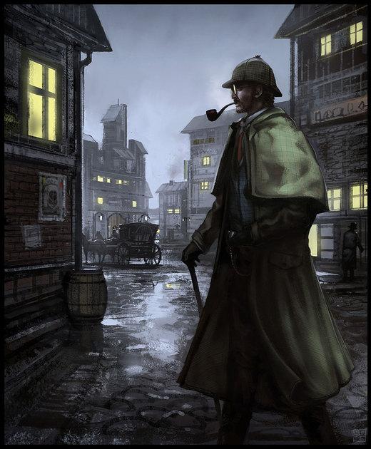 Sherlock Holmes por Hideyoshi
