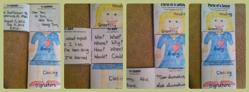 Letter-Writing Children's Book