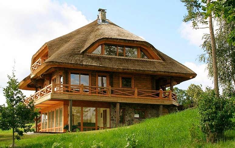 Панорама поселок из какого материала лучше всего строить частный дом палочки
