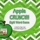 http://www.teacherspayteachers.com/Product/Apple-CRUNCH-Sight-Word-Game-1429956
