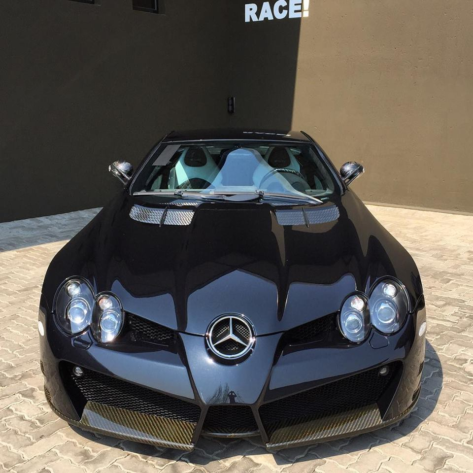 Mercedes Benz SLR McLaren Mansory Renovatio Spotted In Johannesburg South  Africa