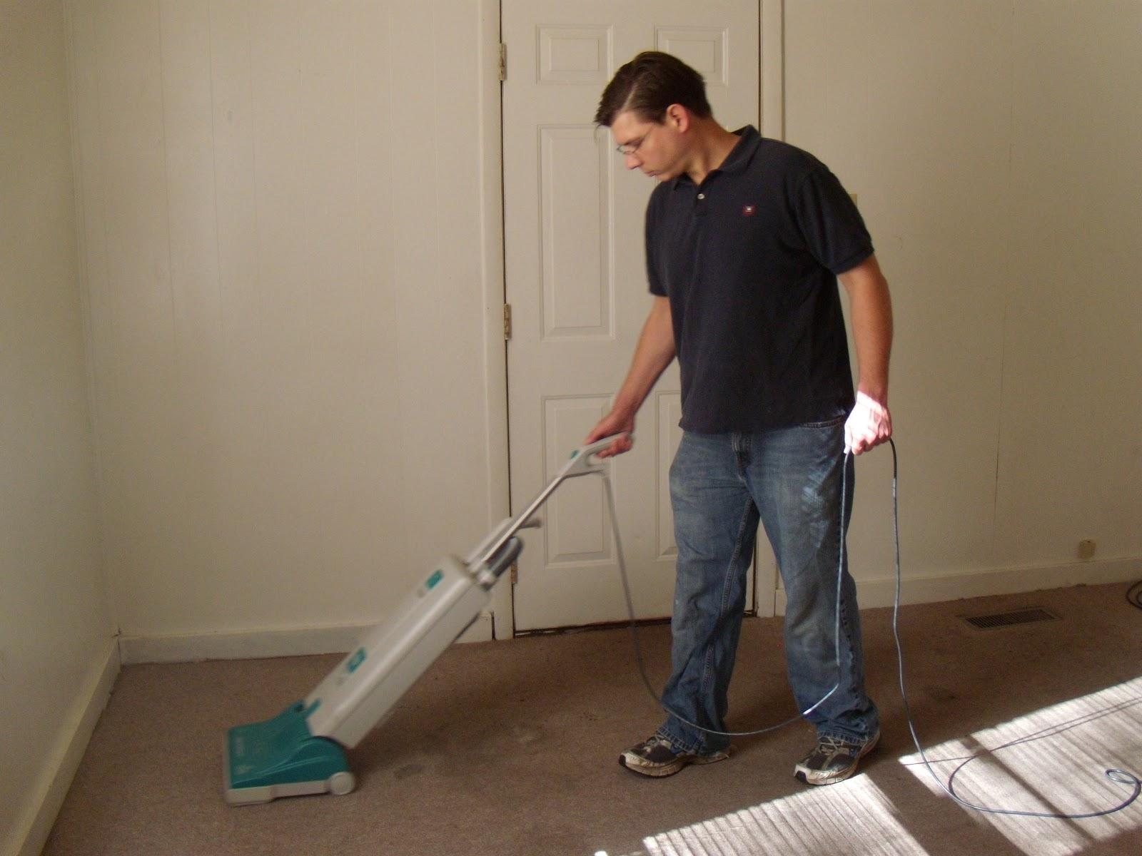 Vacuuming Carpet - Viewing Gallery