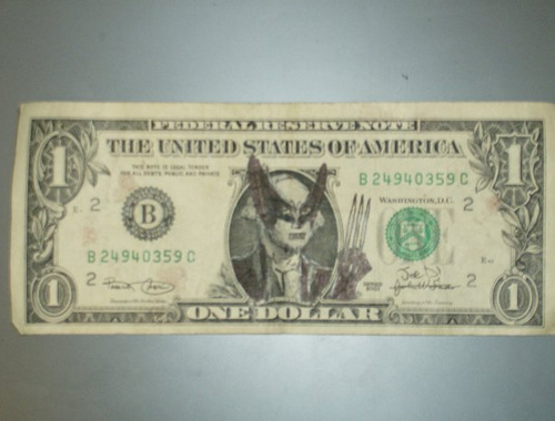 pictures, awesome, dollar arts, defaced dollar bills, dollar bills, funny dollar bills, funny, funny pictures