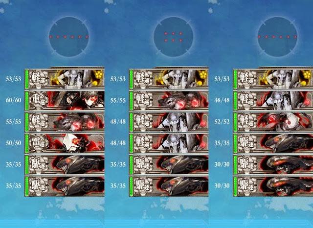 3-1-A 3-1-D 敵編成陣形