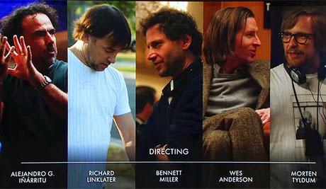 Лучший режиссер Оскар 2015