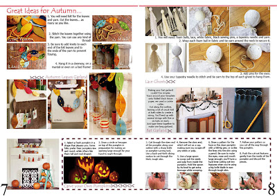 Natali Topliff - Magazine for Art and Craft Hobbyists, Pages 7 and 8