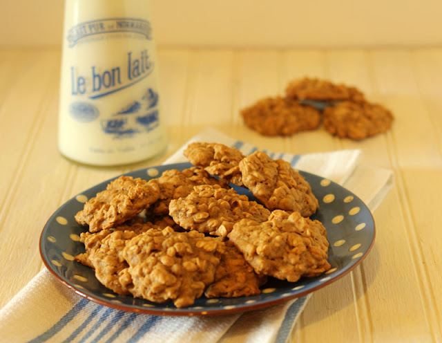 Biscoff Pumpkin Oatmeal Cookies and a Perfect Fall Day ...