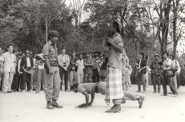 Sihanouk. Photo archive de presse 1984