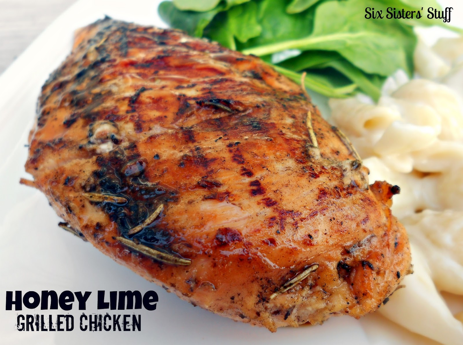 Honey Lime Grilled Chicken | Six Sisters' Stuff
