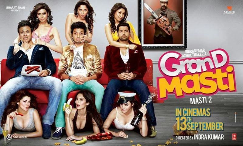 Watch Hindi Adult Movie 'Grand Masti' Online