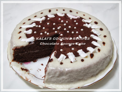 New Year Special - Simple Chocolate Sponge Cake