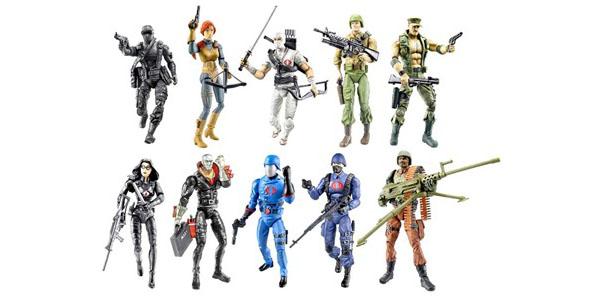 Os bonecos dos Comandos em Ação ou G.I. Joe, no original.