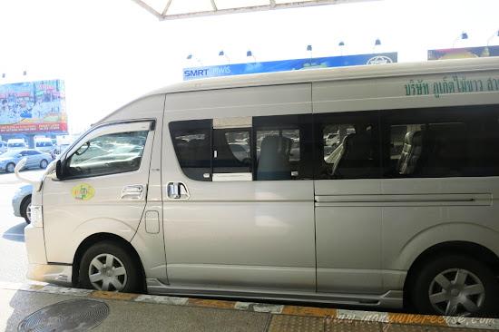 Phuket mini-bus
