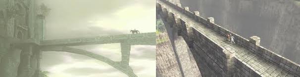 shadow of the colossus ico bridge comparison