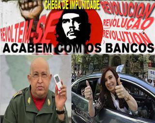 Venezuela Apoia Argentina; Venezuela; Apoia; Argentina; Máfia Petrolifera; Chávez Conversa com Kirchner; expropriação da YPF REPSOL; Expropriação