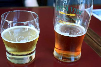 Iceberg Beer und ein 1892 Lager der Quidi Vidi Brauerei