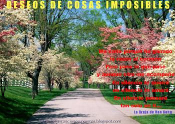DESEOS DE COSAS IMPOSIBLES (La Oreja de Van Gohg)