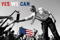 barrack obama yes we can = thank you satan