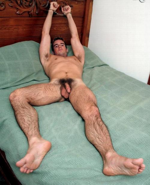 Nude guys showing feet