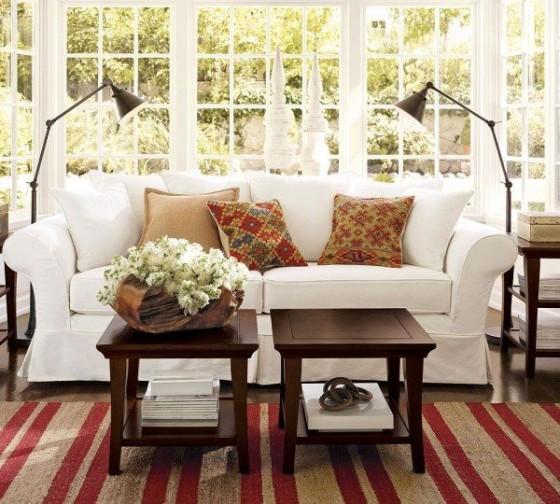 Sala de estar estilo Inglês  Ideias decoração mobiliário