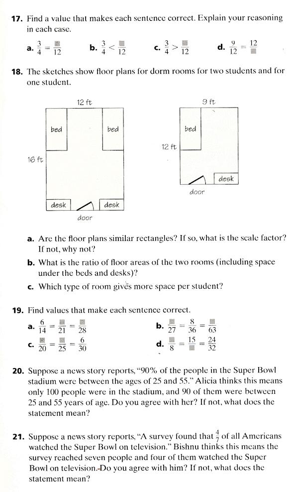 Out In Left Field: Math problem of the week: 7th grade Connected ...