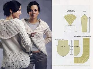 2 MODELOS DE Sweters en Dos Agujas
