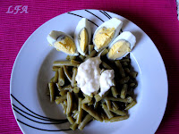 Judías verdes con mayonesa