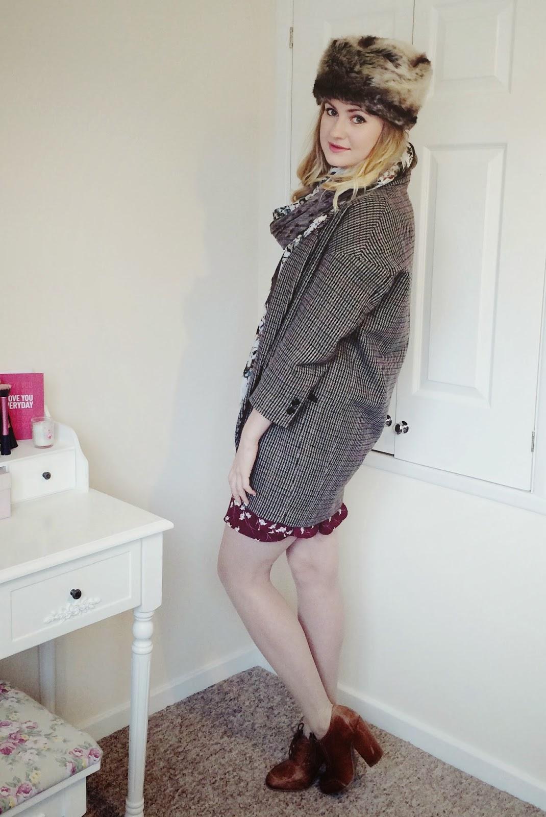 FashionFake, fashion bloggers, UK fashion blog, Sugarhill Boutique dress