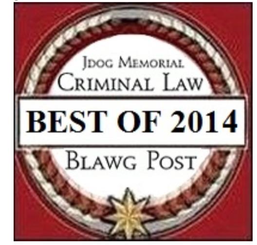 Blawg Award