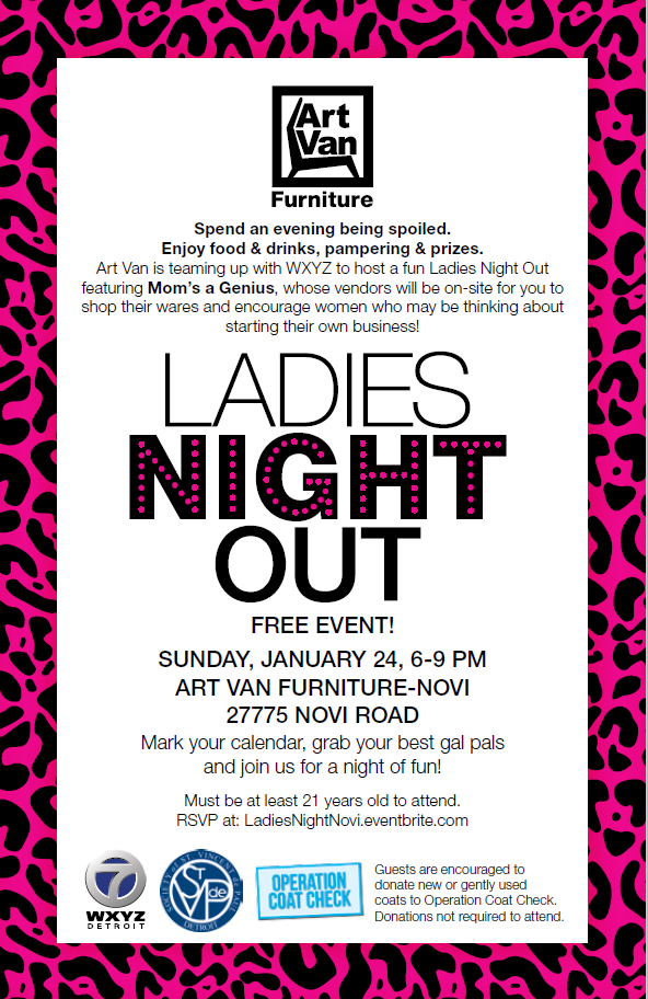 Spend An Evening Being Spoiled With Food, Drinks, Pampering And Prizes.