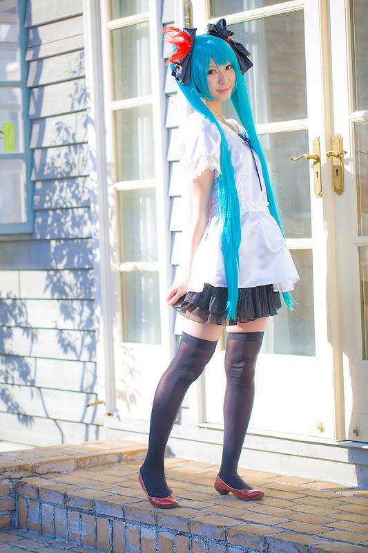 CosRain.Com Rinami's COSPLAY - Miku Hatsune