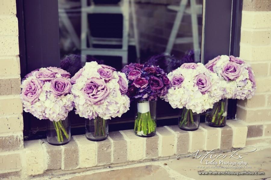 Bridesmaid Flowers Purple : The lindseys wedding flowers