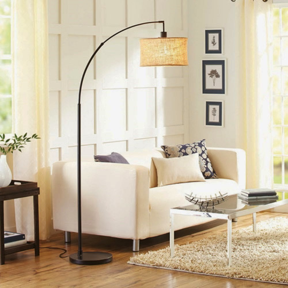 Arc floor lamp for Living room floor lamps