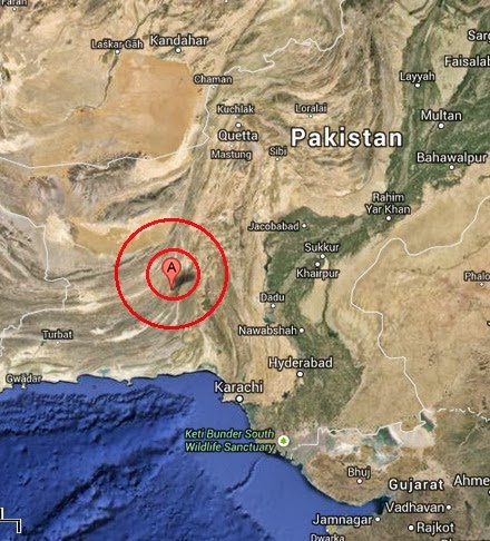 awaran, pakistan earthquake 2013 september 24