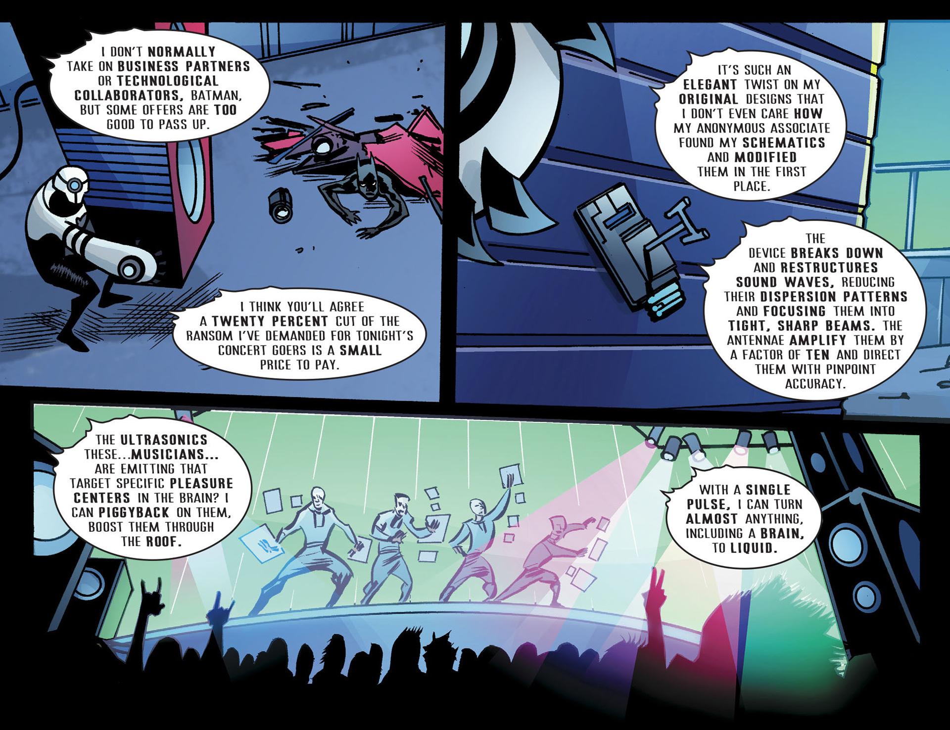 Batman Beyond (2012) Issue #22 #22 - English 11
