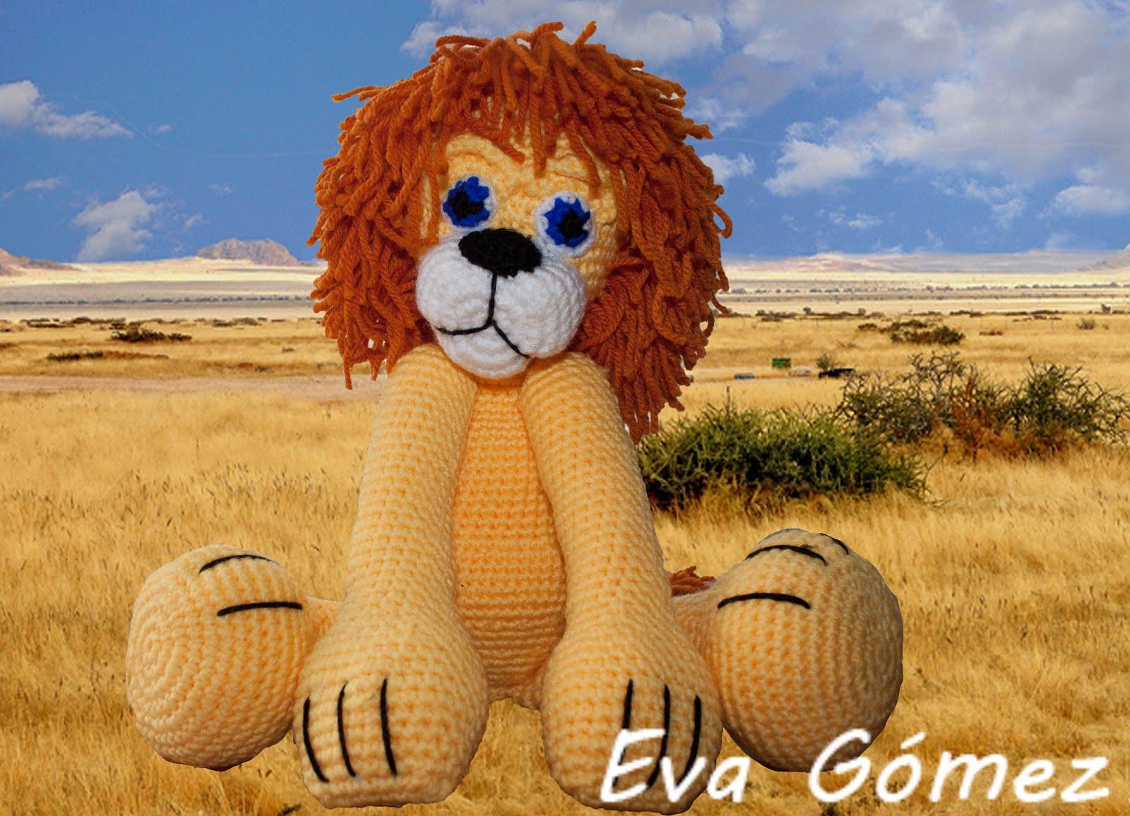 Amigurumi Leon : Rupanteva patrón leon y perrito amigurumi