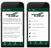 Sports App of the Week - Tipsters Round-Up
