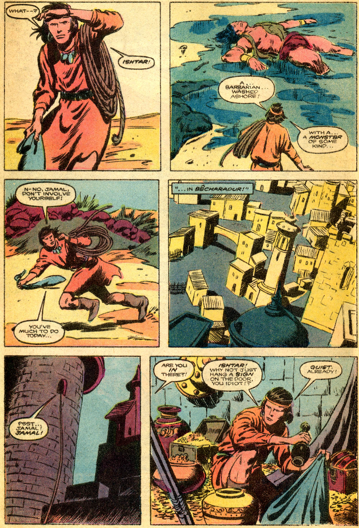 Conan the Barbarian (1970) Issue #179 #191 - English 3