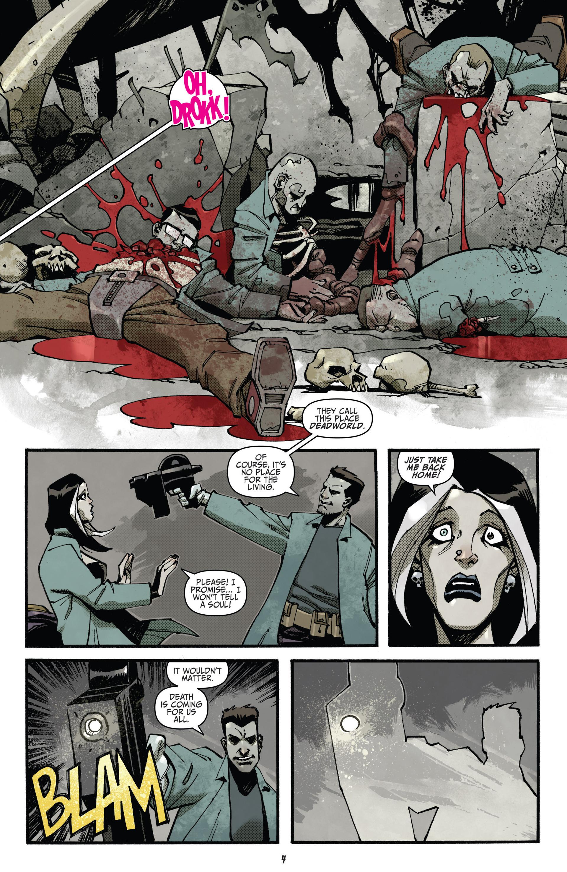 Read online Judge Dredd (2012) comic -  Issue #15 - 6