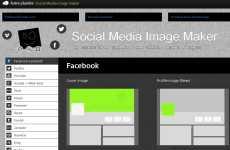 Crear imágenes para redes sociales: Social Media Image Maker