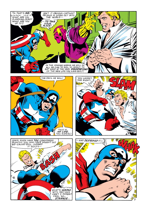 Captain America (1968) Issue #277 #193 - English 10