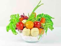 mencegah kanker dengan buah dan sayur