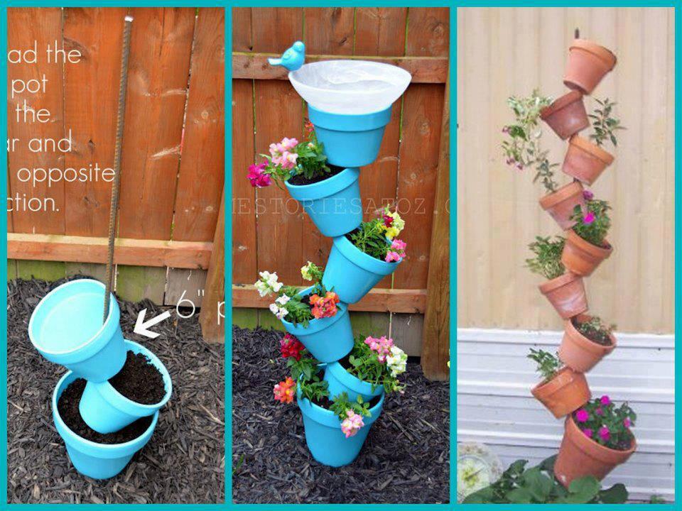 Ostara craft Flower pot bird bath & Crone Cronicles: Ostara craft Flower pot bird bath