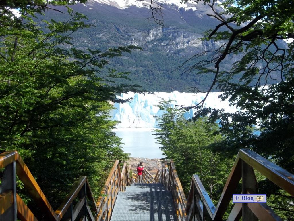 Glaciar Perito Moreno - Bajada por las pasarelas del parque