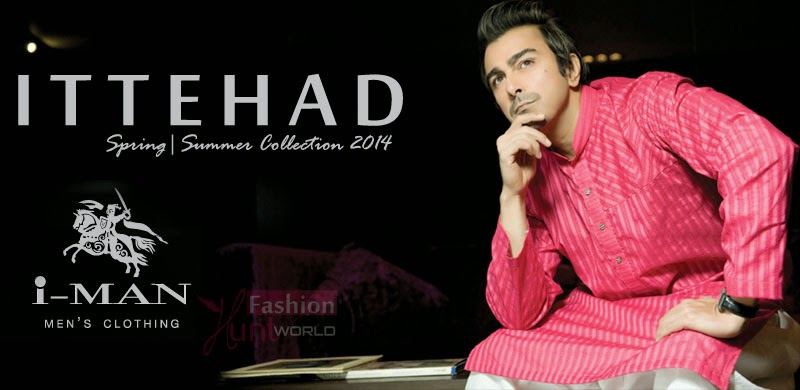 IttehadI ManMensClothingCollection2014 wwwfashionhuntworldblogspotcom 001 - I-Man Men's Clothing Collection 2014-15 By Ittehad