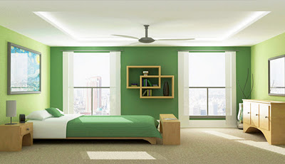 Color verde para las paredes decoracionsalones blog for Combinacion de colores para paredes interiores