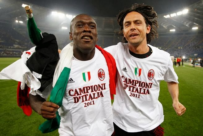 AC Milan new coach candidates Seedorf and Inzaghi