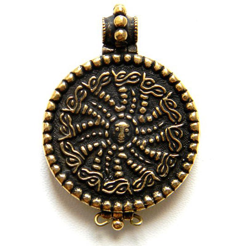 Змеевик - реликварий с изображением Св.Георгия Победоносца