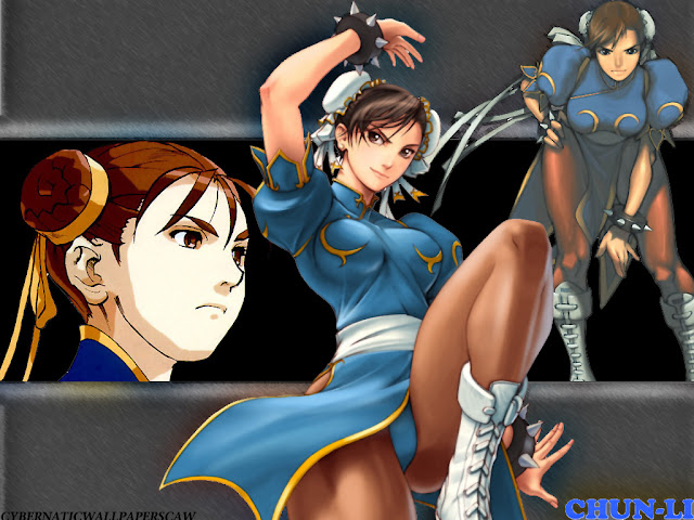 street fighter chun li capcom game